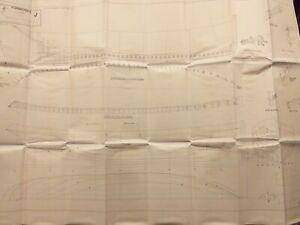 "86' Wooden Steam Drifter ""Formidable"" 1:33 M.M. Plan by J.Pottinger unused"
