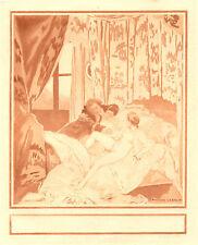 Auguste Leroux - Composition pour les Liaisons Dangereuses de Laclos - 1928 - Nu