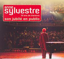 ANNE SYLVESTRE - 50 ANS DE CHANSON, COFFRET 2 CD + 1 DVD (NEUF)