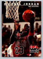 1992 Skybox #44 Michael Jordan USA Basketball NBA Shooting Chicago Bulls HOF