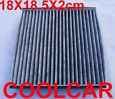 Cabin Pollen Air Filter Active Carbon For Honda Jazz 185X180X20mm 80292-SBG-W01