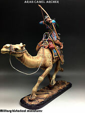 Arab Archer Tin toy soldier 54 mm, figurine, metal sculpture HAND PAINTED