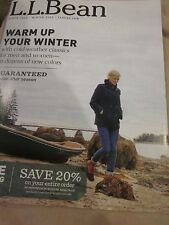 LL BEAN L.L. BEAN CATALOG WINTER 2016 WARM UP YOUR WINTER COLD WEATHER CLASSICS