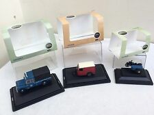 3 X Oxford Diecast Escala OO (1/76) vehículos inc BSA todos en Caja