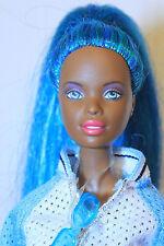 Beach Bliss - Fuzzy Multi-tonal Turquois Blue PT Christie Barbie Reroot OOAK