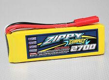 New Zippy Compact 2700mAh 3S 11.1V 25C 35C Lipo Battery Pack RC HXT 4mm USA