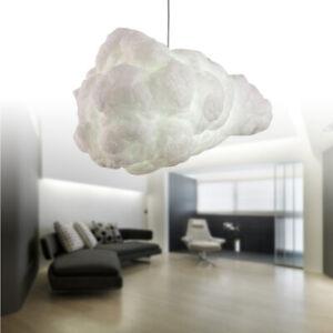 Modern Cloud Shape Ceiling Light Floating Pendant Lamp Restaurant Loft Droplight