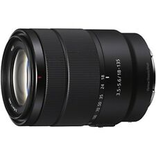 SONY SEL18135 E 18-135mm F 3.5-5.6 OSS APS-C format for Sony 100% Genuine F/S