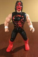 """Vintage Sting WCW Figure WWE WWF 6"""" 9802 Scorpion Red Face 1998 Wrestling"""