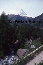 KODACHROME 35mm Slide Switzerland Zermatt Matterhorn Alps Mountains Snow 1979!!!