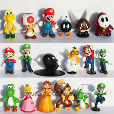 Super Mario Brothers Bros Action Figure Cake Toppers Toys Series #11 YOUR PICK