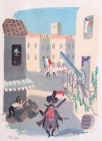 Raymond Peynet (1908-1999) - Lámina Litográfico Firmada Y Numerada #800ex