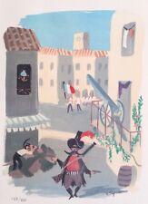 Raymond Peynet(1908-1999) - Impression lithographique signée et numérotée #800ex