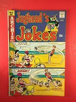 JUGHEAD JOKES #41 Archie Series 1974  Bank Yank, beach scenes & more VERY GOOD+.