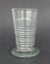 Antikes Bandwurmglas - Formglas - Glas Becher um 1750