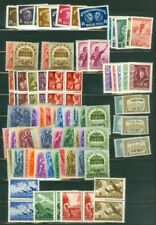 EDW1949SELL : HUNGARY Very clean, all VF MNH collection of Cplt sets. Cat $302.