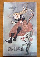 DAS MÄRCHEN VON ROSENBLÄTTCHEN - Clemens Brentano- Lisbeth Zwerger - Erstausgabe