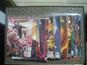 UNCANNY X-MEN #1-15, 17-19 - MARVEL COMICS - NEAR COMPLETE RUN - 2016 -NEAR MINT