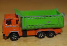 Vintage PLAYART Hong Kong Diecast Scania Dump / Tipper Truck