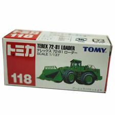 Rare Tomy Tomica 118 Terex 72-81 Loader Diecast Car Model 299486