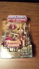 MASTERS OF THE UNIVERSE CLASSICS BUBBLE POWER SHE-RA MOTUC MOC MINT He-Man