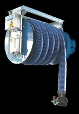 NORFI PKW Abgas Motorschlauchaufroller SET 10m + Ventilator - Abgasabsaugung