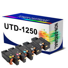 5 x Toner Cartridge For 1250c 1350cnw 1355cn 1355cnw Replace DELL 1250