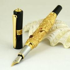 KAIDUOLI Embossed Gold Dragon Medium Nib Fountain Pen