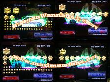 Wangan Maximum Tune 3DX+ 19,000+ Stars + 2,800 Coin + LvL46 + Your Name