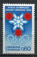 STAMP / TIMBRE FRANCE NEUF LUXE ** N° 1520 ** JEUX OLYMPIQUES D'HIVERS GRENOBLE