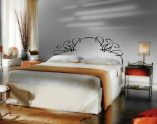 """Vinyl Headboard Panel Wall Art Decor Removable Decal  Queen Size 60"""" Wide #2200"""