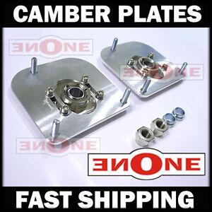 MK1 Camber Kit Plates For Volvo 850 C70 S70 S80 V70 4 Coilover Kits Strut Mount