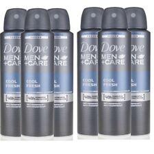 Pack Of 6 Dove MEN+Care Cool Fresh 48HR Deodorant Body Spray 150 ml