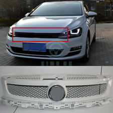 Front Bumper Middle Grille Cover For  New Tiguan 2013-2015 Sport White