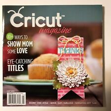 Cricut Magazine May 2012 Shabby Chic Embossing Gift Tags Everyday Life Exc Cond