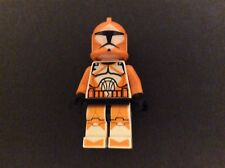 LEGO Star Wars Bomb Squad Trooper Orange Uniform Armor Clone Wars