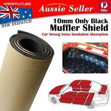 10mm Black Foam Strong Sound Noise Insulation Absorption Reduce Car UTE 80CMx1M