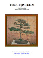 BONSAI CHINESE ELM - cross stitch chart
