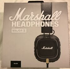 Marshall Major ll Headphones Mic & Remote - Black - Sealed - Authorized Reseller