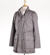 New $1075 EMPORIO ARMANI Stone Gray-Beige Field Jacket Parka M (Eu 50)