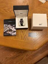 Montblanc 1858 Chronograph Automatic Black Dial Men's Watch 117835