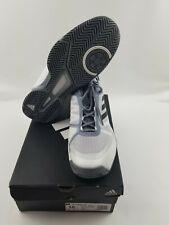 Adidas Men Barricade Clue Running White Gray Sneakers Shoe CM7782 Mens 10