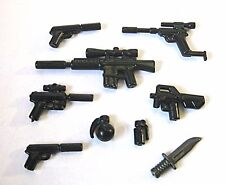 BrickArms SPY Pack Weapons for Lego Minifigures NEW 007 Secret Agent Undercover