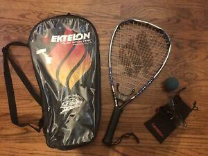 Ektelon Revenge Racquetball Racquet w Bag, Glasses, & Ball