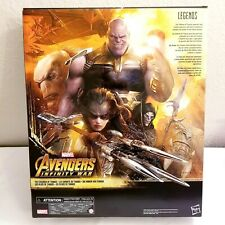 Marvel Legends Thanos 5 Pack Exclusive Amazon ??BOX ART ONLY?? NO FIGURES??