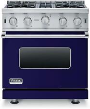 "New listing Nib Viking 5 Series Vgic53014Bcblp 30"" ProStyle Gas Range Convection Cobalt Blue"