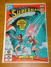 SUPERMAN #372 VOL 1 DC COMICS NEAR MINT CONDITION JUNE 1982