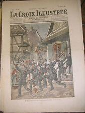 La croix illustrée N° 299 1906 Le repos dominical aux manoeuvres allemandes