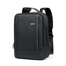 """Laptop Backpack Carrying Bag Messenger Case Handbag USB Charging SchoolBag 15.6"""""""