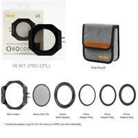 Genuine NiSi V6 100mm Filter Holder Standard CPL For Sony Canon Nikon DSLR HOT